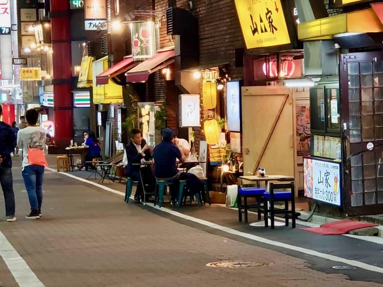 渋谷中央街ストリートテラス