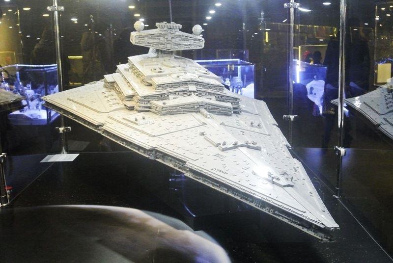 exposição LEGO