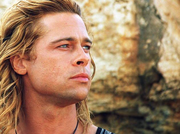 Brad Pitt in Troy.