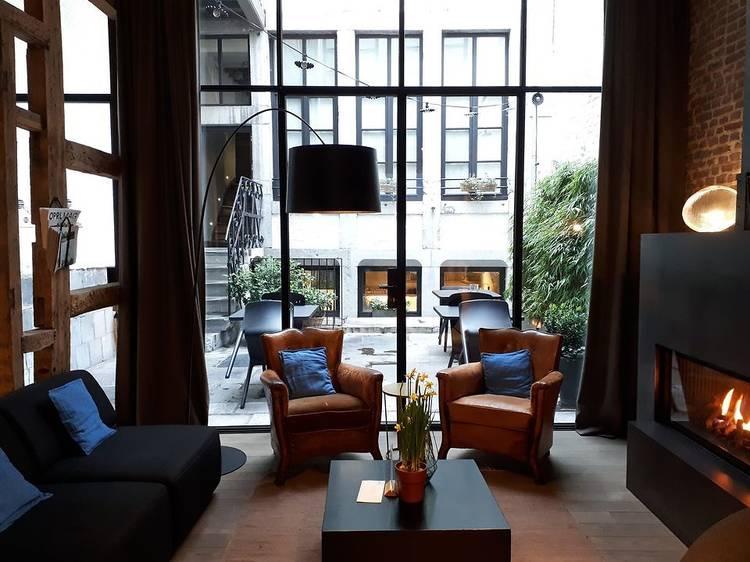 Pioncer comme un loir à l'hôtel Neuvice