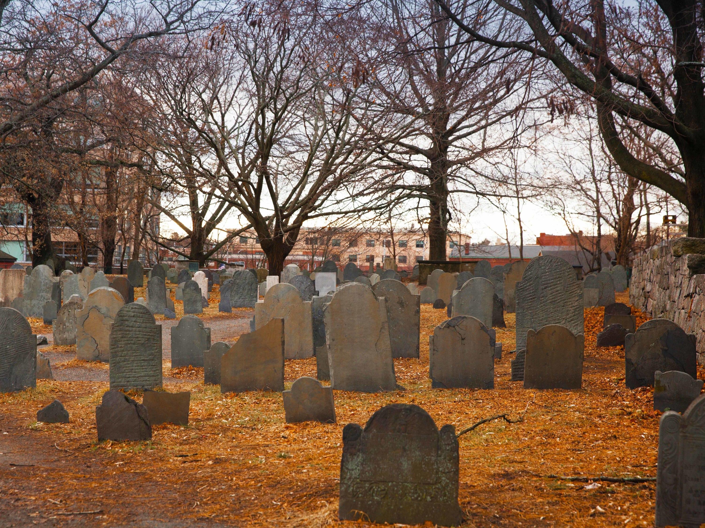 Salem, cemetery, witch trails