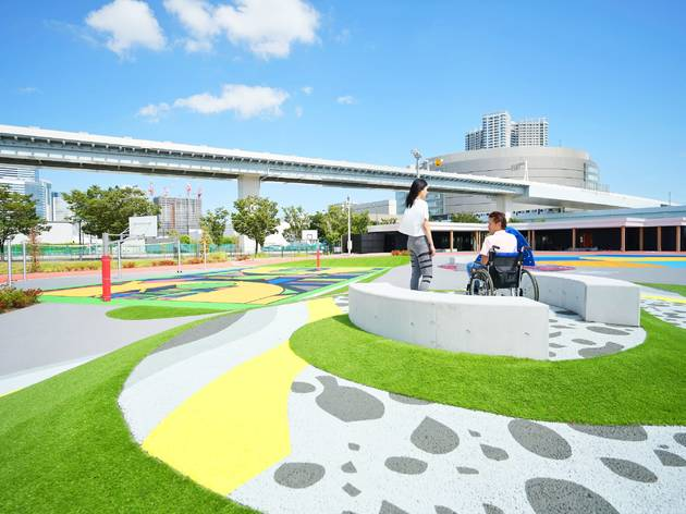 This new Nike sports park in Toyosu is fully accessible and totally free to use