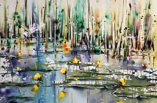 'Lilies on the River' Rachael Dalzell