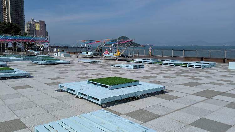 Belcher Bay harbourfront open space