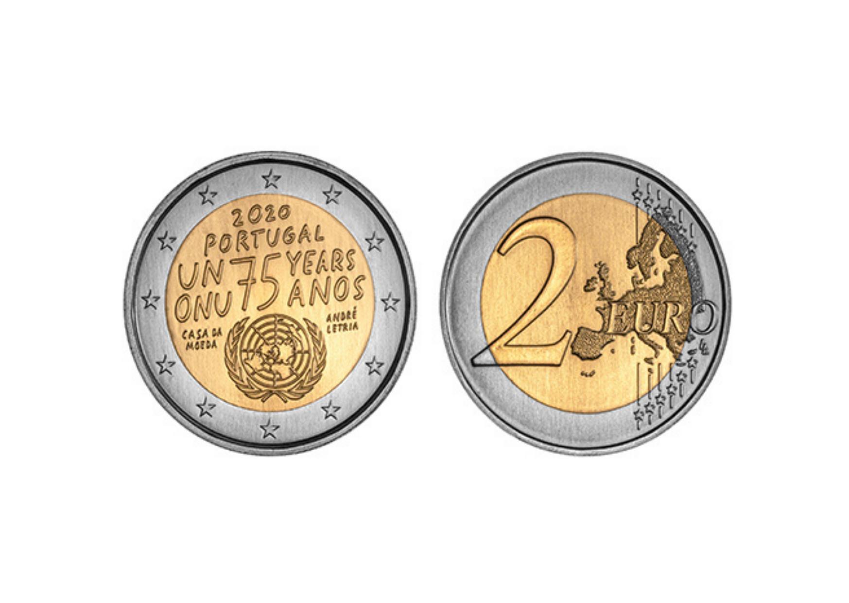 ONU comemora 75 anos com uma exposição grátis e uma moeda nova