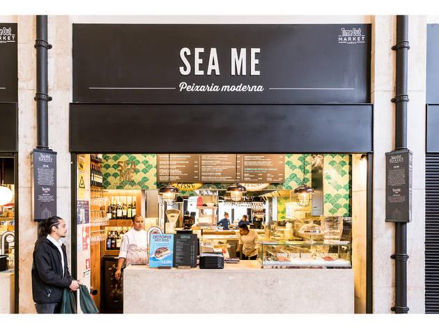 Time Out Market, Sea Me, Frente de Loja