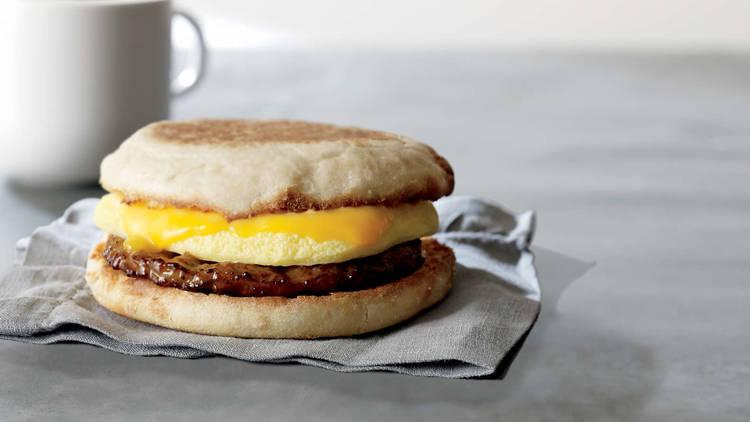 Plant Powered Breakfast Sandwich