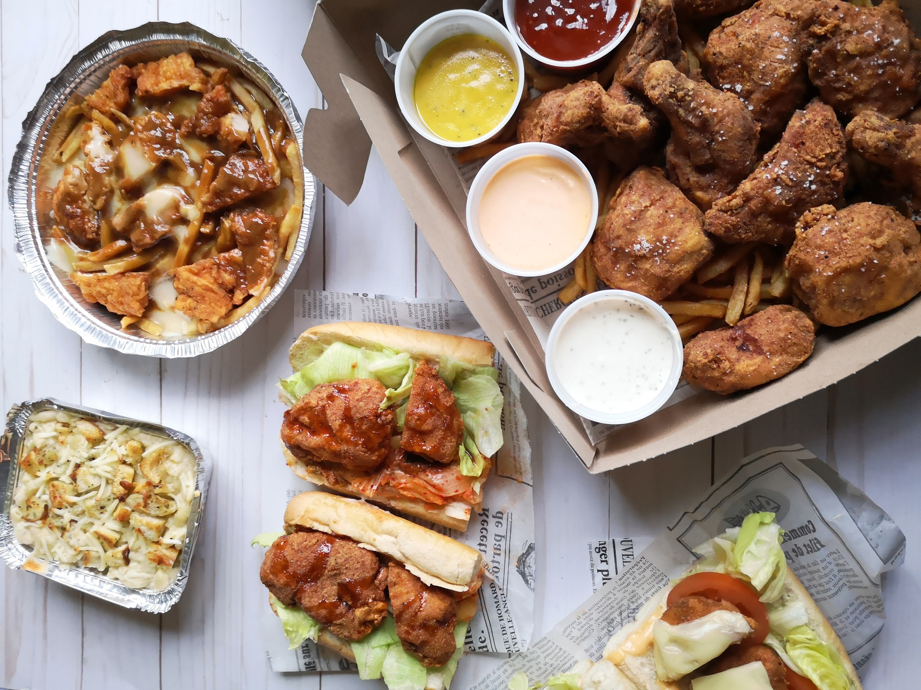 Chef Hakim Chajar's new fried chicken joint Rubie's is golden, crispy and gluten-free