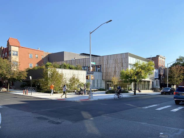 Brooklyn's newest eco-friendly library has a ton of fascinating hidden secrets