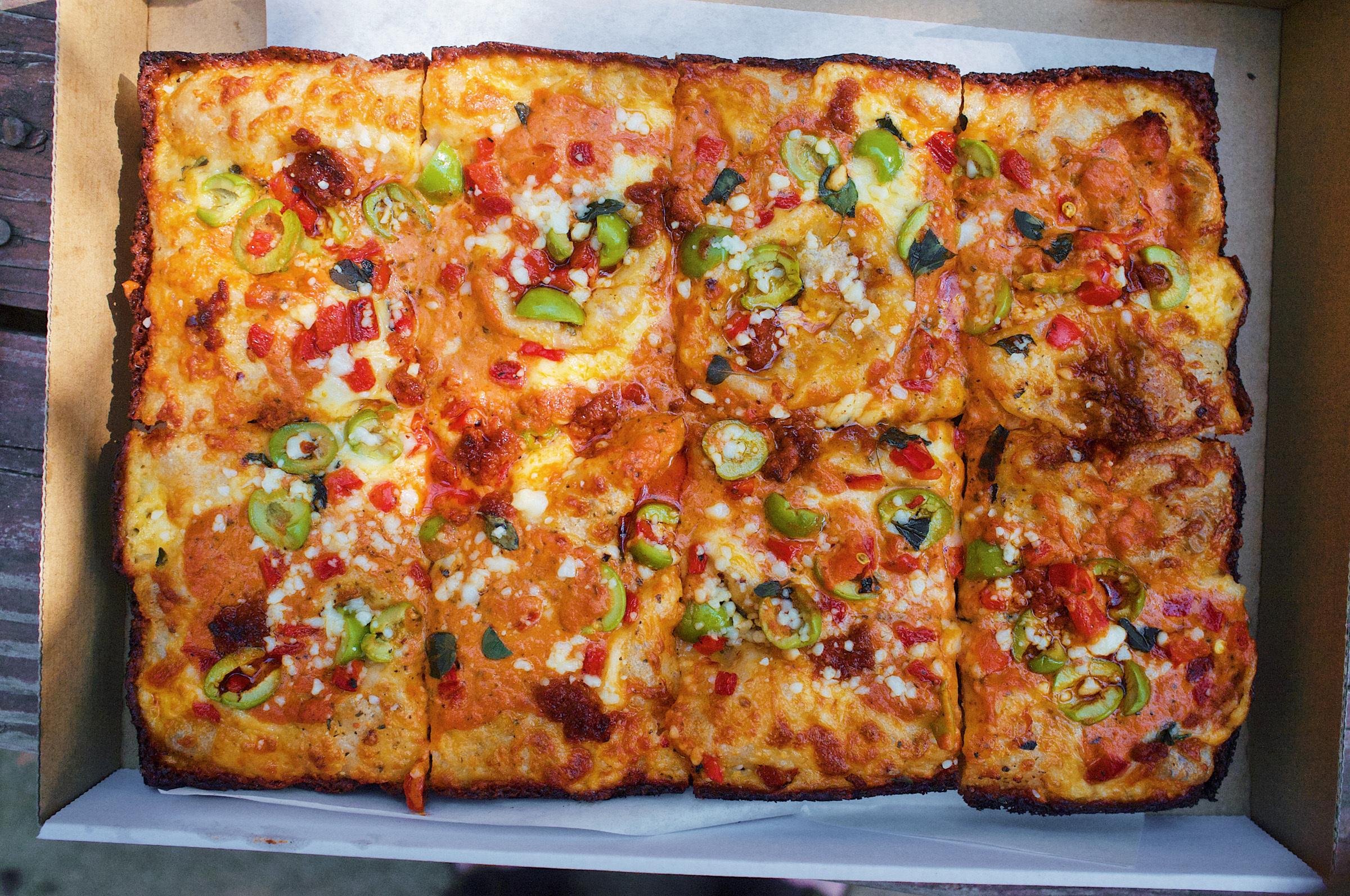Quarter Sheets pizza