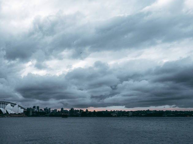 Storm's a comin'! Wild weather and torrential rain is set to lash Sydney for a week