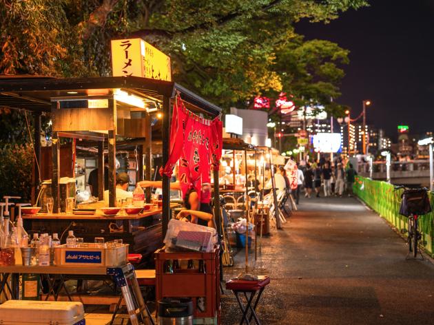 Fukuoka ramen stalls