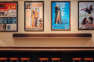 Jimmy's falafel interior (Photograph: Nikki To)