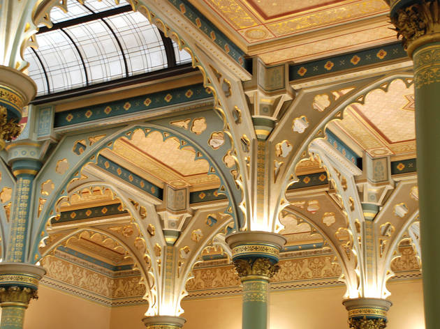 ANZ Gothic Bank interior (Photograph: Chris Newton)