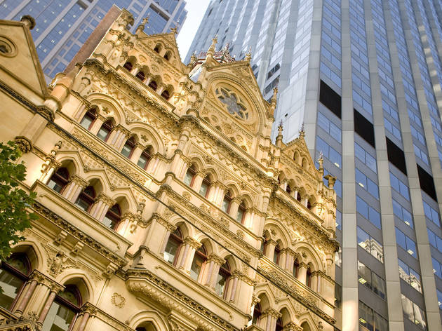 ANZ Gothic Bank exterior (Photograph: Mark Chew)