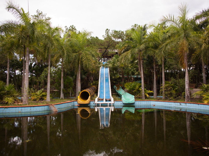 Ho Thuy Tien water park in Vietnam