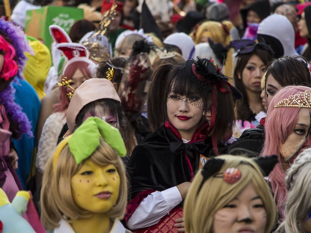 Halloween celebrations in Japan