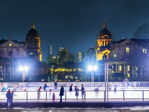 Get your skates on at these London Ice rinks