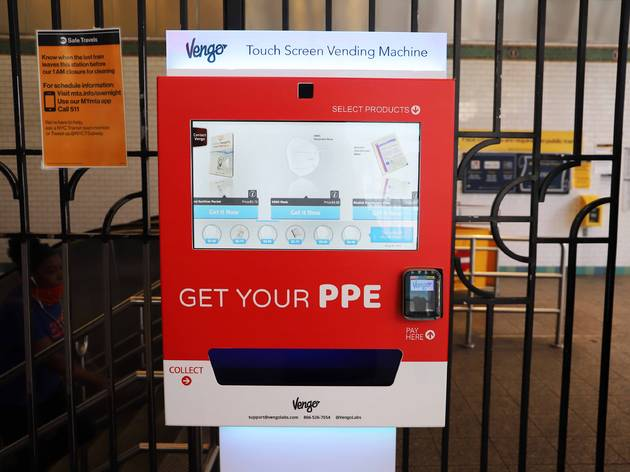 Vending machines stocked with face masks and sanitizer are coming to CTA stations