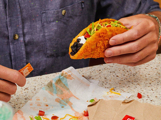 Taco Bell is bringing back its Toasted Cheddar Chalupa, now with a vegetarian option