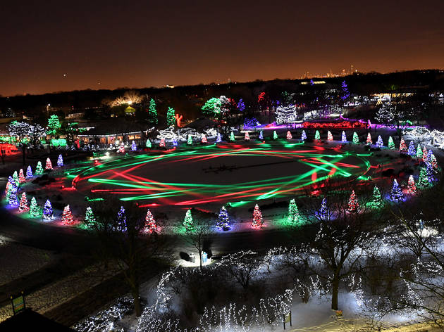 Brookfield Zoo Holiday Magic