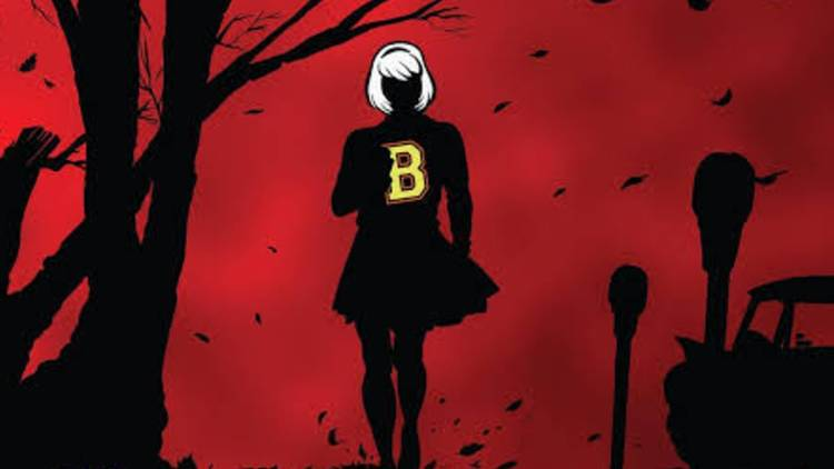 Sombra de Sabrina de Rockstar Comics: Chilling Adventures Of Sabrina