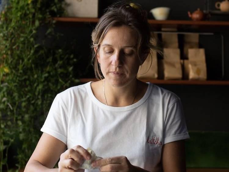 Adeline Grattard, cheffe étoilée (Yam'Tcha, Café Latcha, boutique Yamtcha)