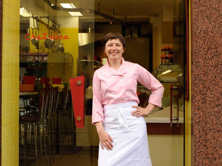 Delphine Zampetti, mère nourricière du 11e, traiteur d'amour ! (CheZaline)