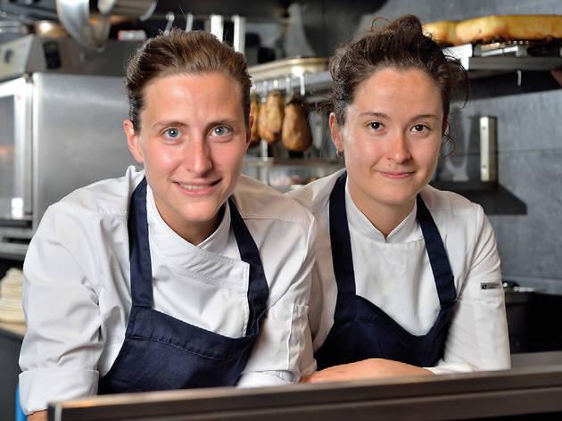 Anne Legrand et Clio Modaffari