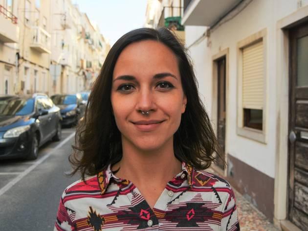 Catarina Maia, autora do projecto 'O Meu Útero'