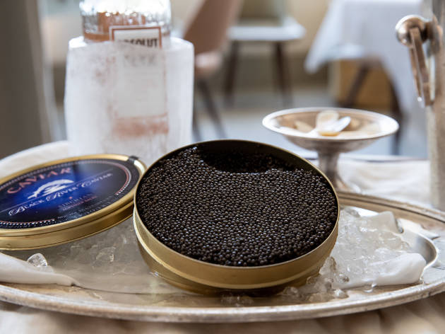 Caviar at Mimi's
