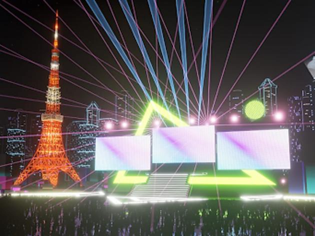 Virtual Tokyo Tower