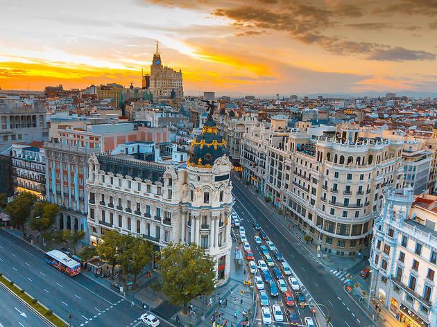 Madrid vista aérea