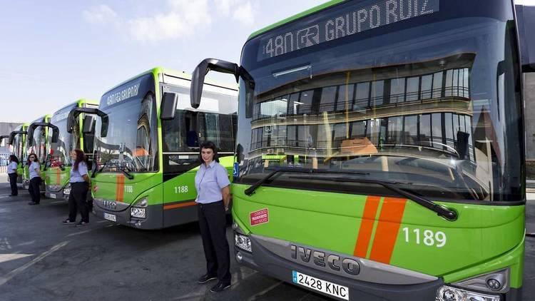 Autobús interurbano EMT. Transportes Madrid