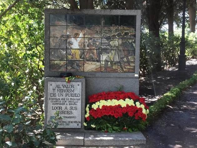 Fusilamientos 3 de mayo. Cementerio de la Florida