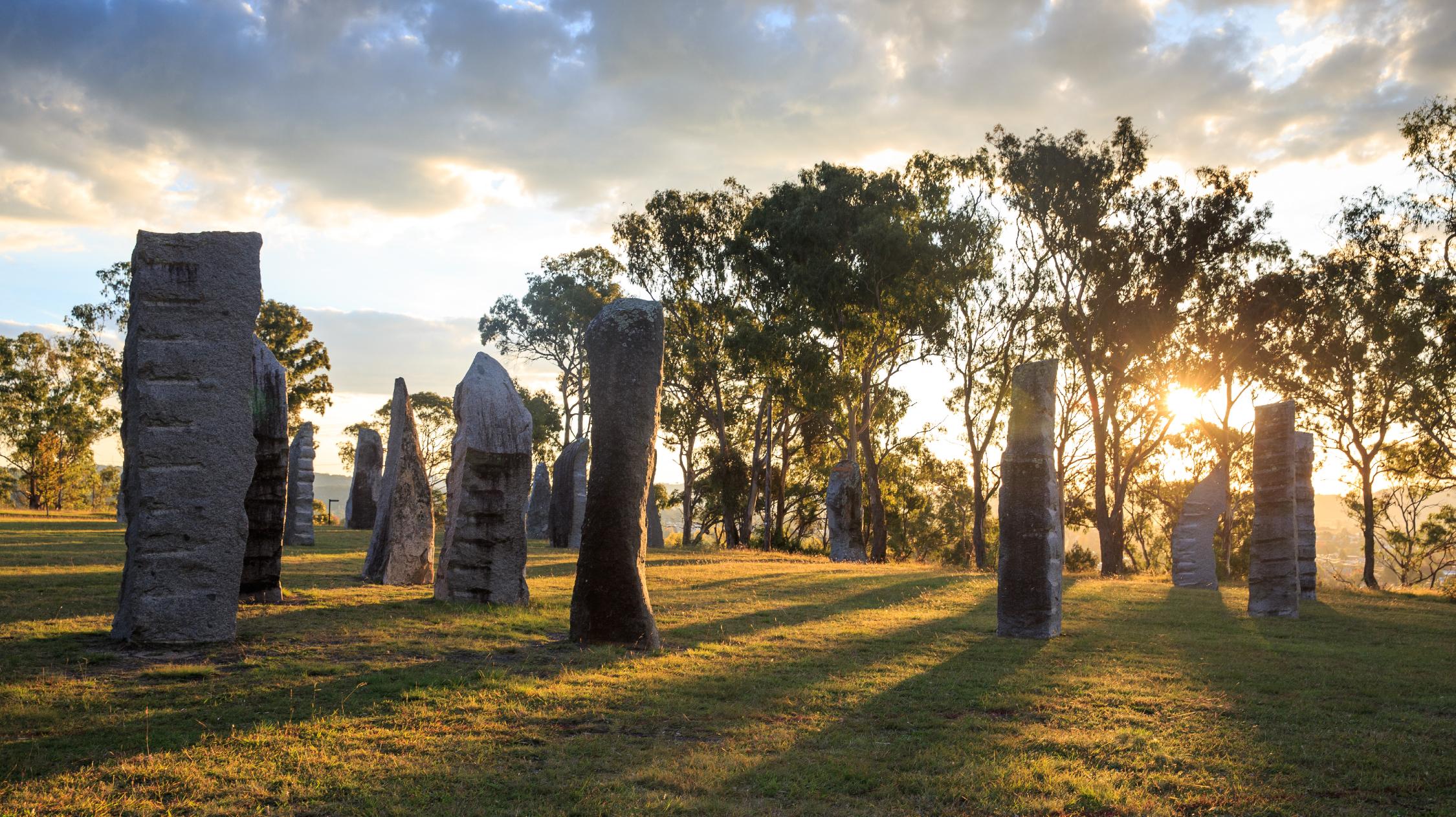 The Australian Standing Stones in Glen Innes
