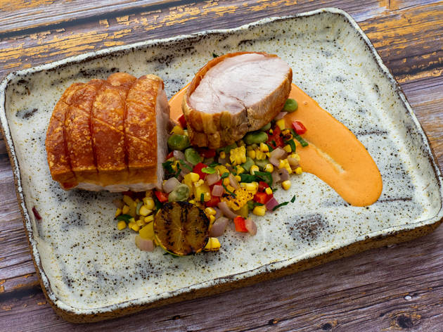 Riverview Farms - roast pork with crackling