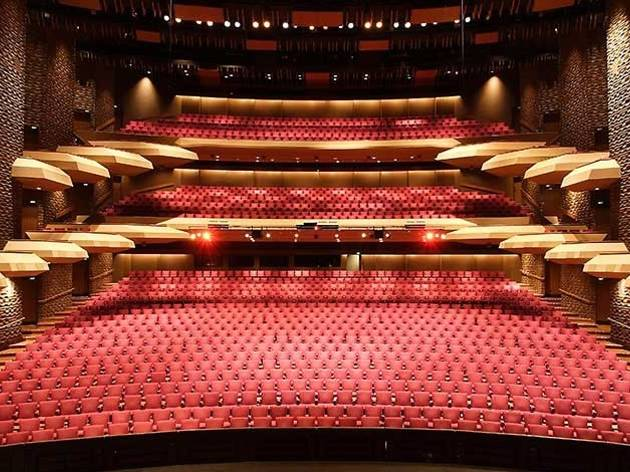 The empty seating of the Adelaide Festival Theatre