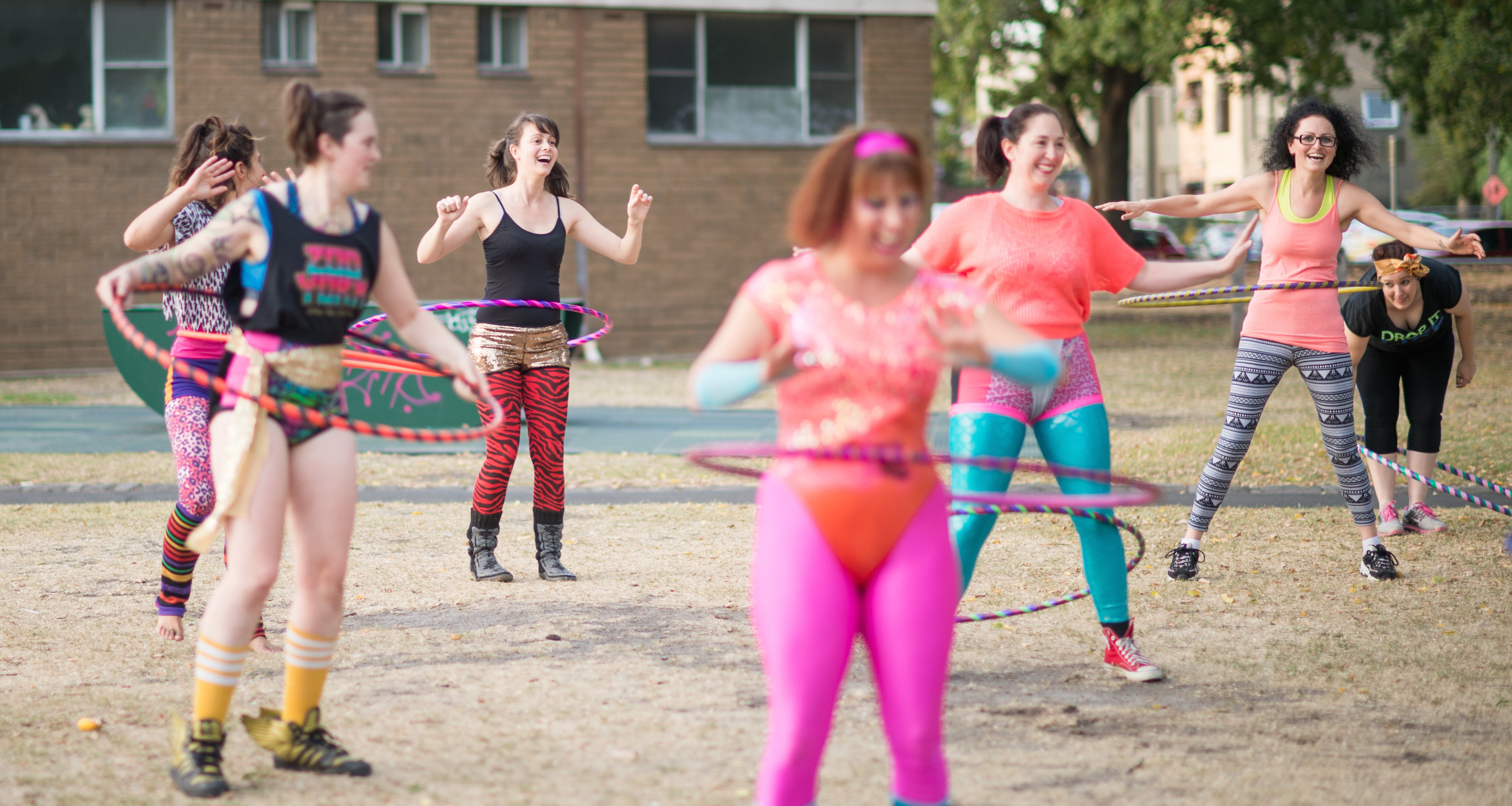 You can now do hula hoop exercise classes in Melbourne