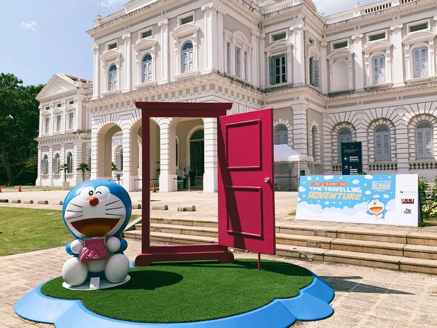 Doraemon''s Time-Travelling Adventures in Singapore
