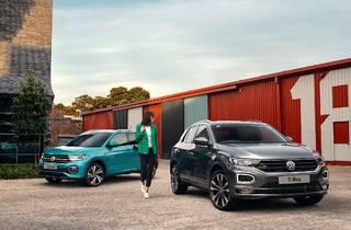 Volkswagen T-Roc and T-Cross SUVs