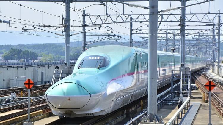 shinkansen, bullet train