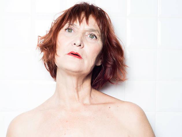 Eva Lyberten a l'obra de teatre Una