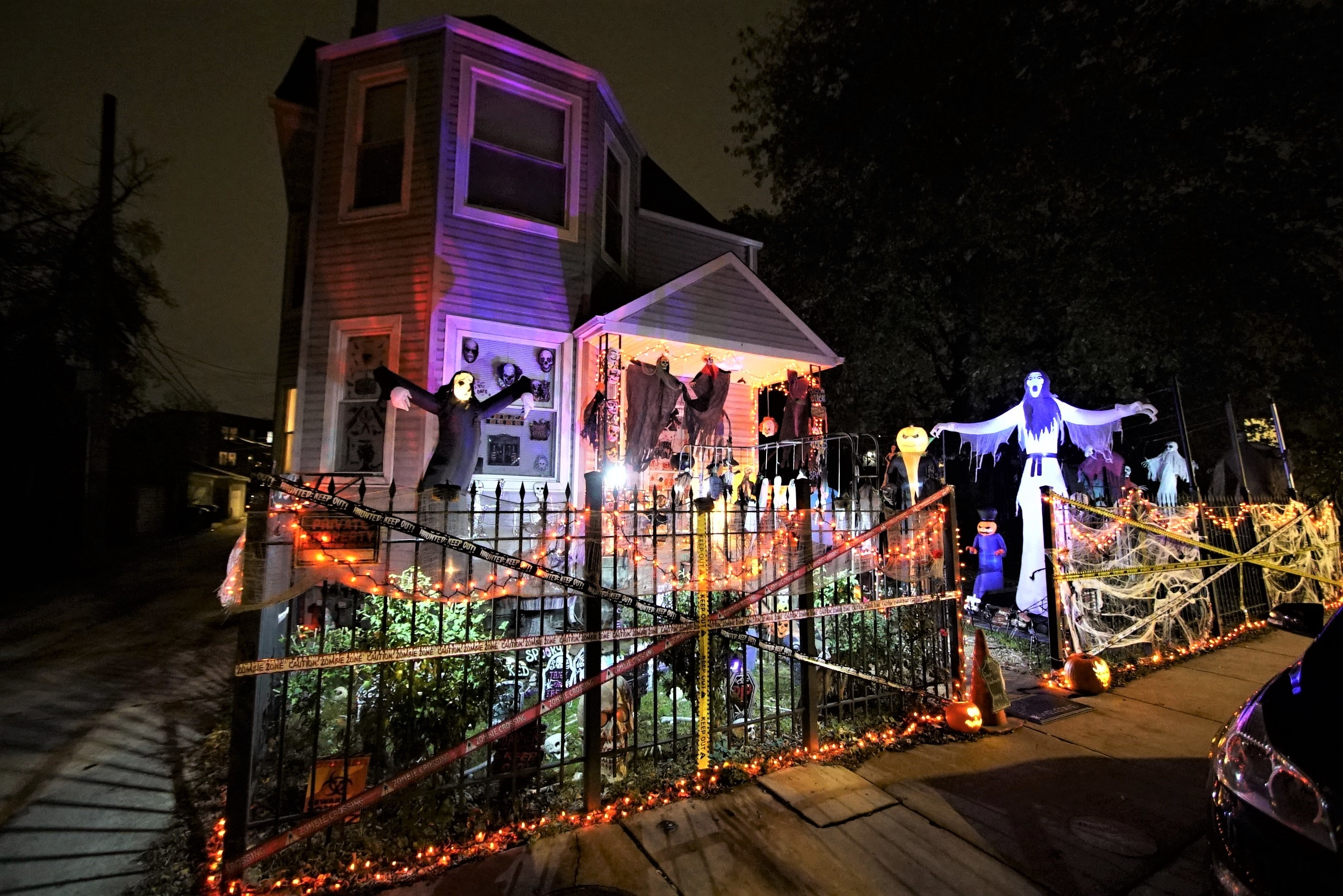 Take a look at this over-the-top DIY haunted house in Avondale