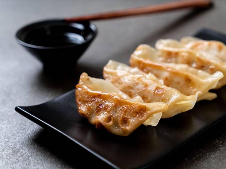 Dumplings (5€) para hacerse asiduo a Tres cerditos