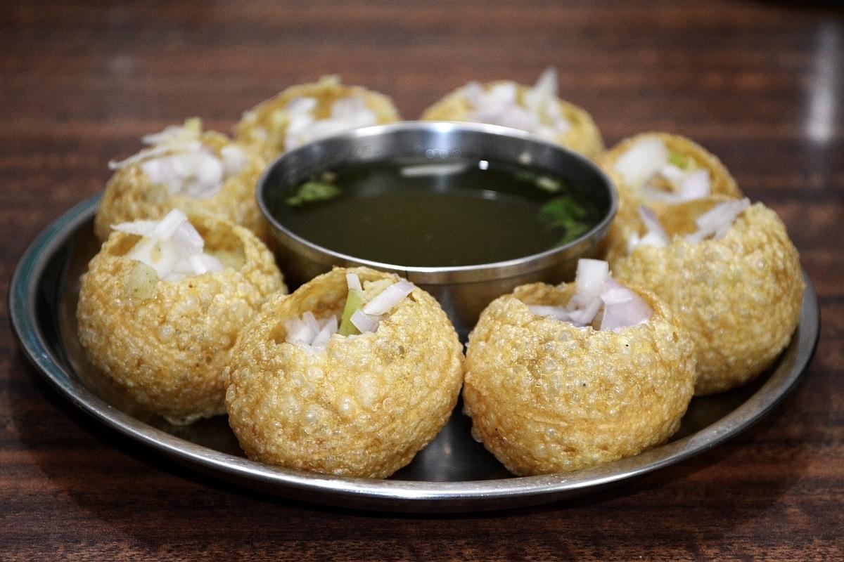 plato de panipuri