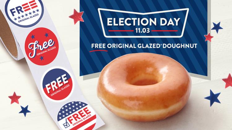 Krispy Kreme Election Day