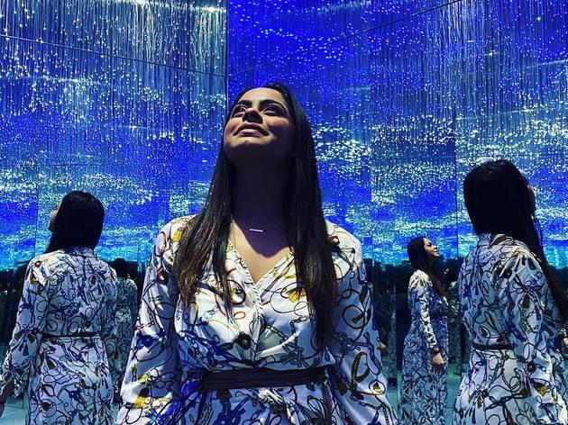 Museum of Illusions mirror room
