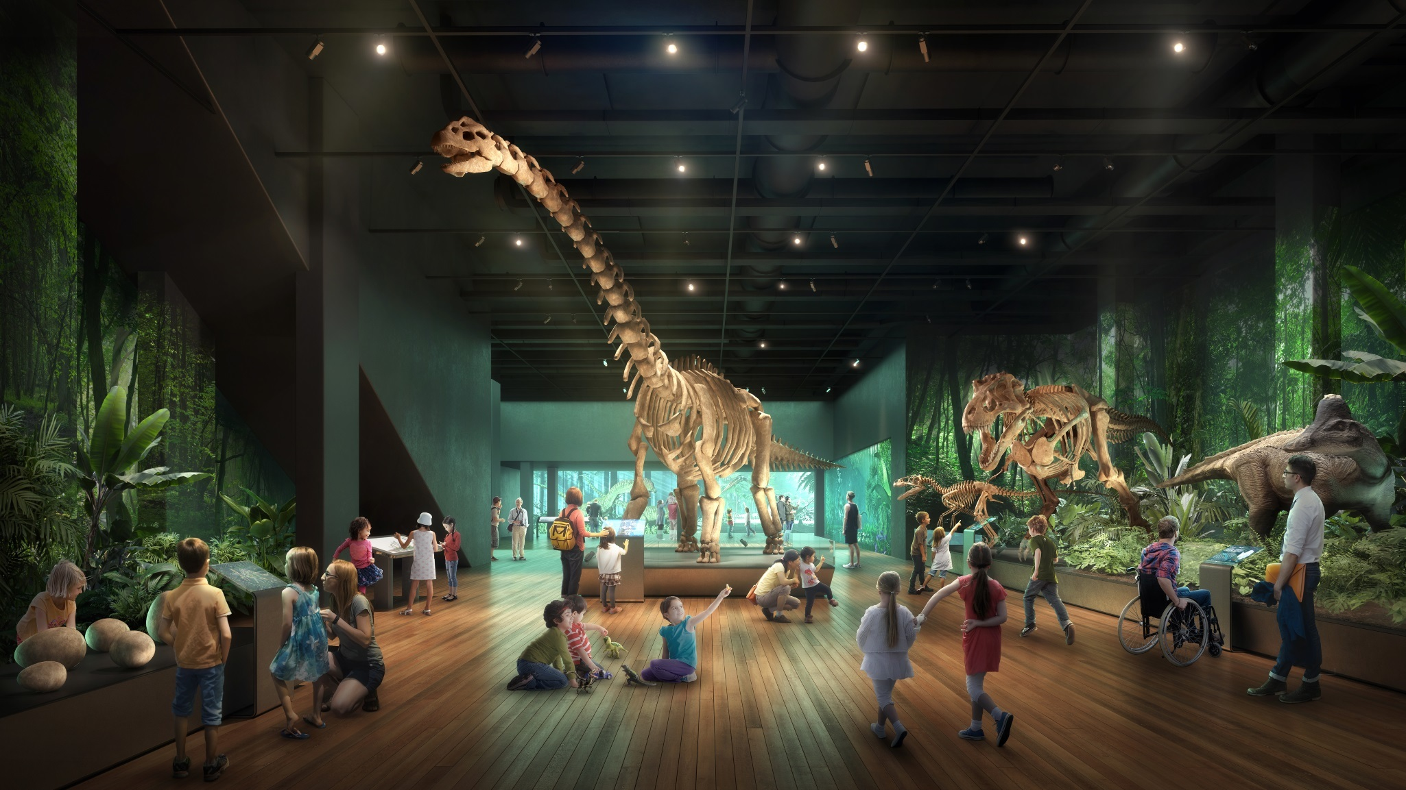 The new-look Australian Museum has announced an opening date, and it's sooner than you think