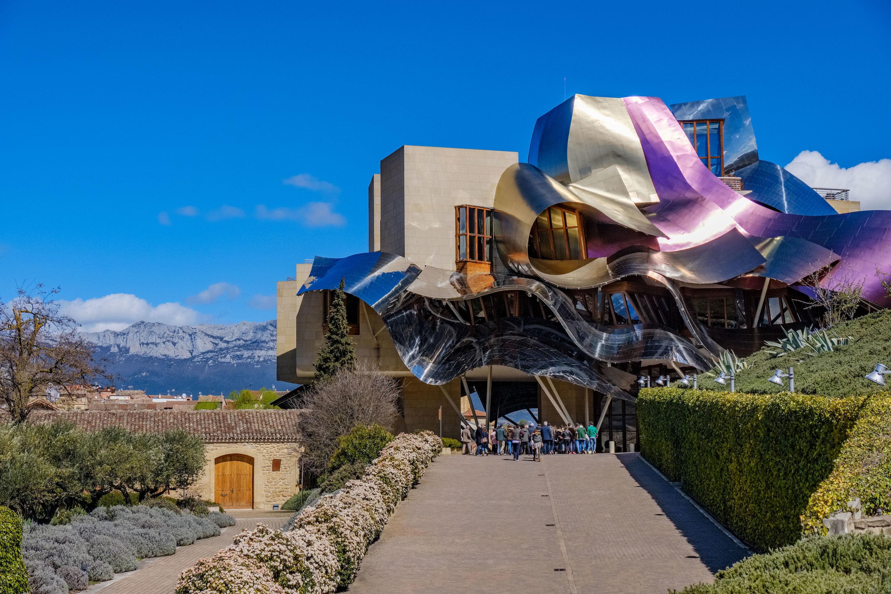 Marqués de Riscal Frank Gehry